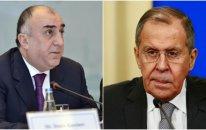 Elmar Məmmədyarovla Sergey Lavrov arasında telefon danışığı oldu