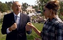 Prezidentlə xanımı Balaxanını gəzdi— VİDEO