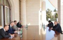 İlham Əliyev Avropa İttifaqının Cənubi Qafqaz üzrə xüsusi nümayəndəsini qəbul edib