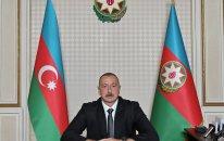 Prezident İlham Əliyev xalqa müraciət edir