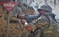 Ermənistan silahlı qüvvələri növbəti dəfə razılaşmanı pozdu