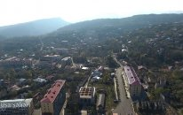 Şuşa şəhərinin havadan görüntüsü  — VİDEO