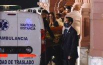 Maradonanın cənazəsi prezident sarayına aparıldı
