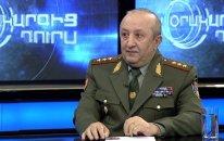"""Erməni generaldan Paşinyana cavab:  """"Onun psixi problemləri var"""""""