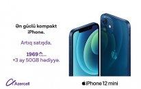iPhone 12 Pro Max və iPhone 12 Mini Azercell Eksklüziv mağazalarında!