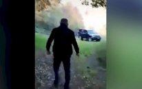 Füzulidə minaya düşənlərin çəkdikləri son   VİDEO