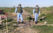 AMEA: Düşmən geri çəkilərkən əraziləri kortəbii şəkildə minalayıb