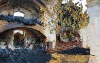 Ermənilər Ağdamdan çıxarkən bu məscidi də yandırıblar  — FOTO