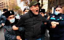 Yerevanda növbəti gərginlik – 25 nəfər saxlanıldı