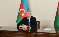 İlham Əliyev videoformatda qəbul keçirdi - FOTO