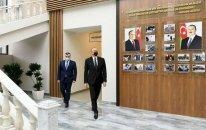 Prezident Şağanda pansionatın açılışında iştirak etdi - FOTOLAR