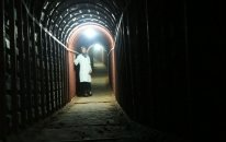 Mağaraya girən xüsusi təyinatlılar yeraltı hospital tapdı