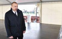 Prezident DOST mərkəzinin açılışında iştirak edib -FOTOLAR