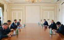 İlham Əliyev Litvanın xarici işlər nazirini qəbul etdi