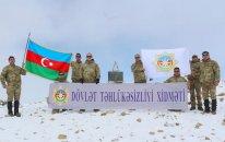 """DTX əməkdaşları """"Heydər zirvəsi""""nə yürüş təşkil edib (FOTO)"""