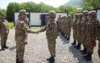 Azad olunan ərazilərdə indiyədək 20 hərbi hissə istifadəyə verilib (FOTOLAR)