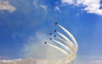 Azərbaycan və Türkiyə hərbçiləri F-16-ların uçuşlarını izlədi (FOTOLAR)