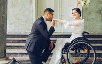 Paralimpiyaçımız Vətən Müharibəsi iştirakçısıyla evləndi - FOTO