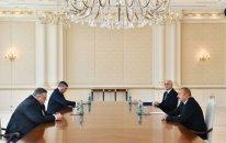 İlham Əliyev Rusiya Baş nazirinin müavinini qəbul etdi (YENİLƏNİB)
