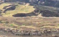 Minalanmış ərazilərdə yanğın: Helikopterlər göndərildi (VİDEO)