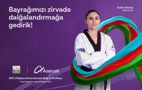 Azercell Milli Olimpiya Komandasına uğurlar arzulayır!