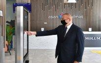 """Prezident növbəti """"ASAN xidmət""""in açılışında (FOTOLAR)"""