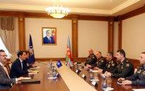 Nazir NATO-nun Qafqaz və Mərkəzi Asiya üzrə xüsusi nümayəndəsi ilə görüşdü (FOTO)