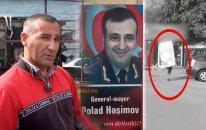 Polad Həşimovun plakatını yanğından xilas edən şəxs danışdı (VİDEO)