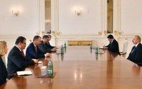 Prezident Avropa İttifaqının xüsusi nümayəndəsini qəbul etdi