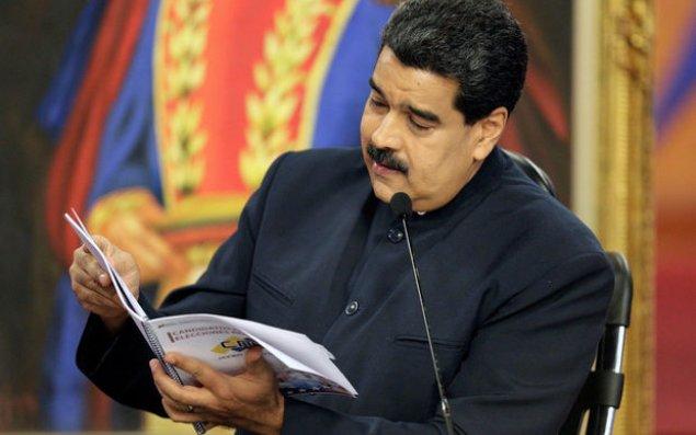 """Maduro: """"ABŞ Venesuelaya """"enerji müharibəsi"""" elan edib"""""""