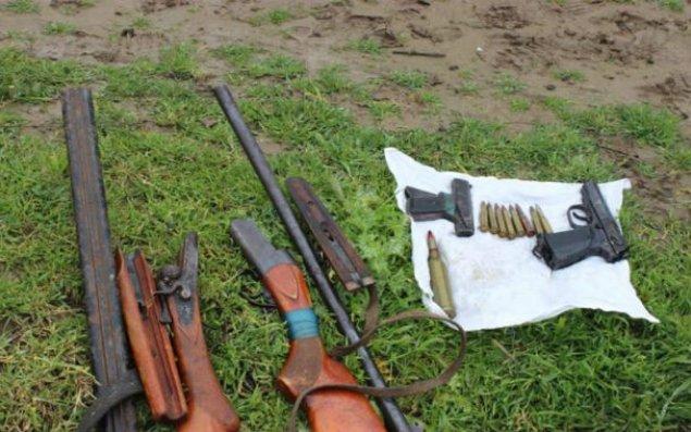 Zaqatalada meşəlik ərazidə silah-sursat tapılıb