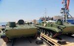 Azərbaycan Rusiyadan hərbi texnika gətirdi - VİDEO