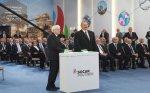 Azərbaycan və İtaliya prezidentləri Sumqayıtda polipropilen zavodunun açılışında iştirak ediblər – FOTO