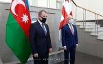 Azərbaycan və Gürcüstan XİN başçılarının görüşü başlayıb