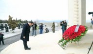 Gəncə şəhərində 31 mart soyqırımı qurbanlarının xatirəsi anılıb