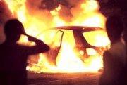 Avtomobil yandı  Suraxanıda
