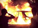 Xaçmazda avtomobil yandı
