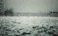 Cənub bölgəsində güclü yağış yağır