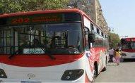 Bakıda bəzi avtobus xətlərinə dəyişiklik edildi