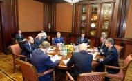 Azərbaycan və Rusiya arasında dəmir yolları sektorunun inkişaf etdirilməsi ilə bağlı müzakirələr aparılıb