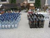 Bakının tanınmış mağazasında qanunsuz içkilər aşkarlandı   – FOTO