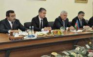 Ziya Məmmədov İran nümayəndələrini qəbul etdi   — FOTO