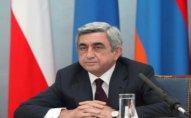 Sarkisyan Qarabağa gedib