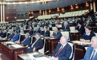 Bu gün Milli Məclisin ilk iclası keçiriləcək