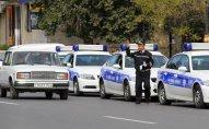 Tovuzda polisi avtomobil vurdu