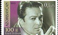 Rəşid Behbudovun 100 illiyi ilə bağlı poçt markası buraxıldı