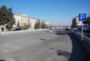 Bakıda  daha bir parklanma yeri ləğv edildi  - FOTO