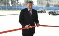 İlham Əliyev yeni Mərkəzin açılışında
