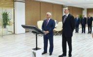 Prezident yarımstansiyanın açılışında