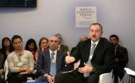 İlham Əliyev Davosda neft qiymətindən danışacaq